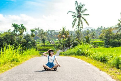 landscape and nature in Bali and Lombok