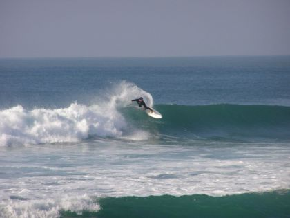 Profi Surfer in Portugal