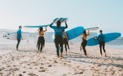 surf lessons on Bali