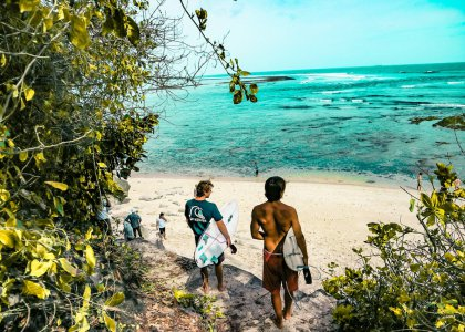 surf camps on Bali and Lombok