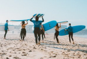 surf camps in Portugal